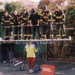 sri chinmoy lifting firemen