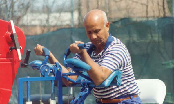 Sri Chinmoy's training machines